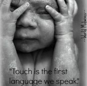 touch is the first language a .jpg